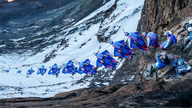 Stunning First-Person Video of a Wingsuit Pilot's Flight From the Top of Mount Kilimanjaro