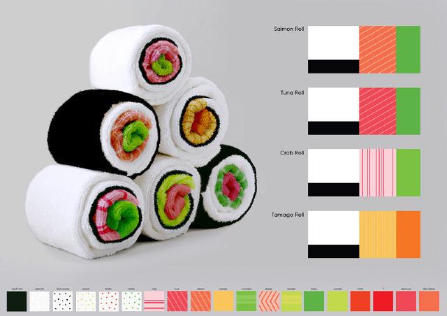 sushi towel 1
