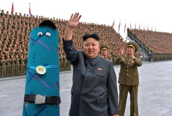 Petey the PDX Carpet and Kim Jong-un