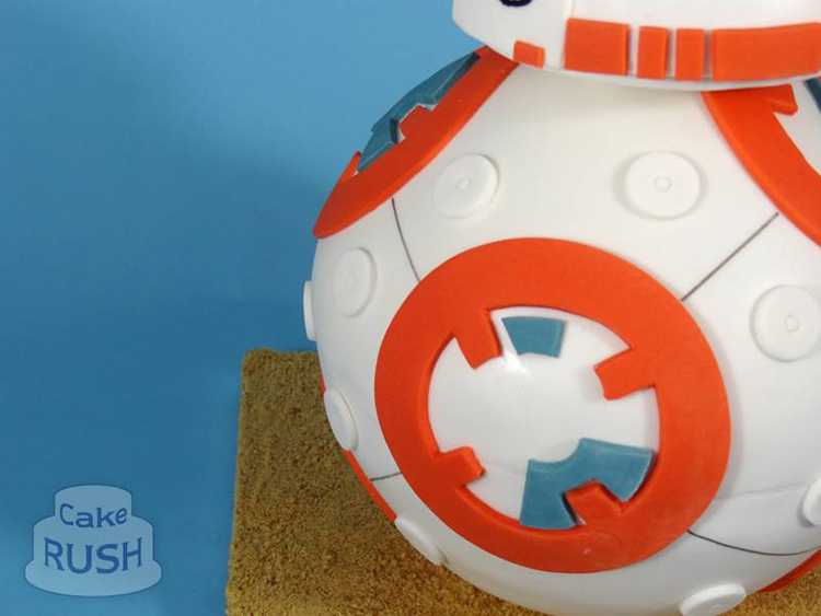 Star Wars BB-8 Cake