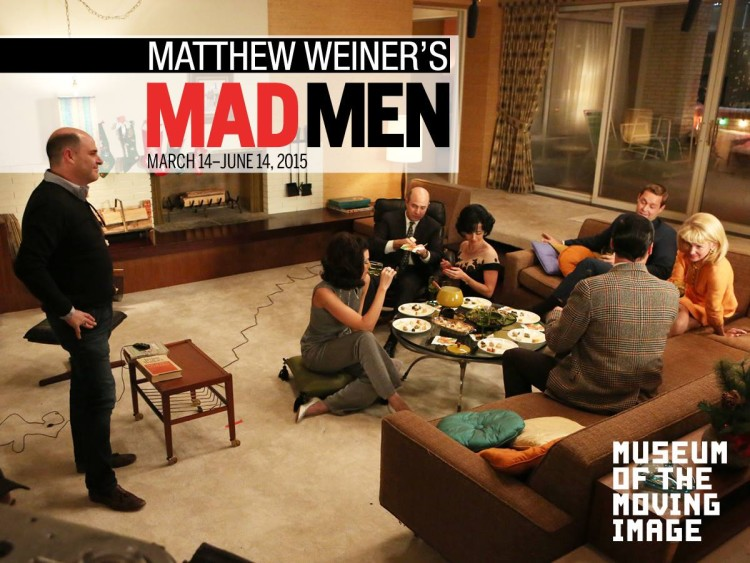 Mad Men Exhibition at the Museum of the Moving Image