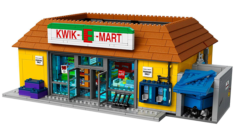 LEGO to Release a Kwik-E-Mart and Minifig Set Based on the Iconic Springfield Store From 'The Simpsons'