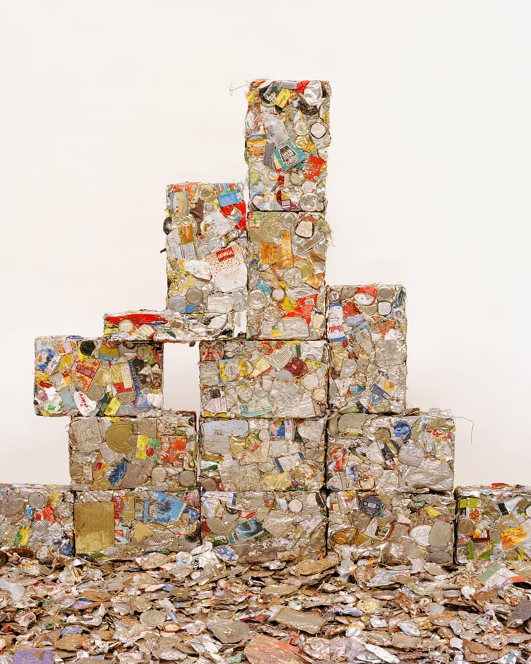 Beautiful Abstract Sculpture Art Made From Trash