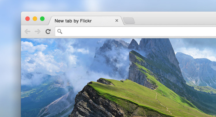 Flickr Tab