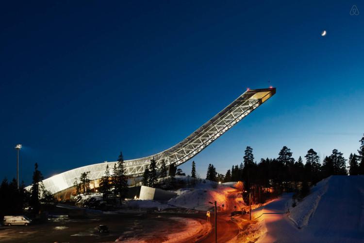 Ski Jump Airbnb