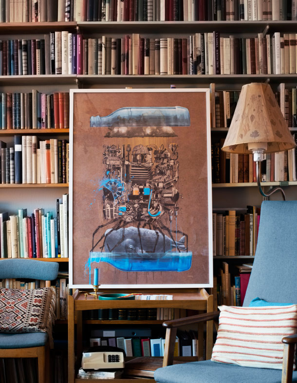 Art Aficionados Critique a Work of Art That Turns out to be an IKEA Print