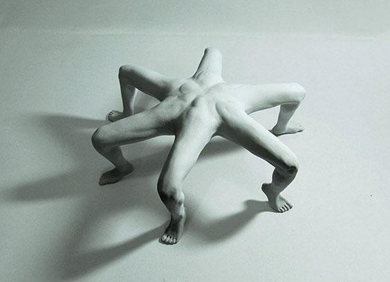 Stranatomie Sculptures by Alessandro Boezio