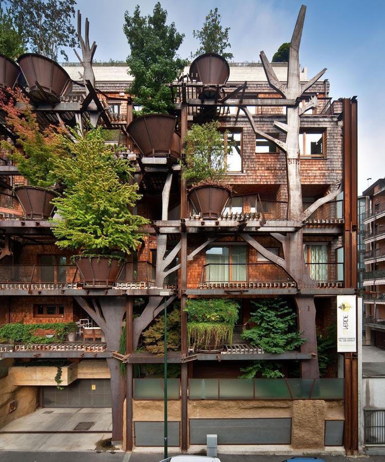 25 Verde Tree House in Turin