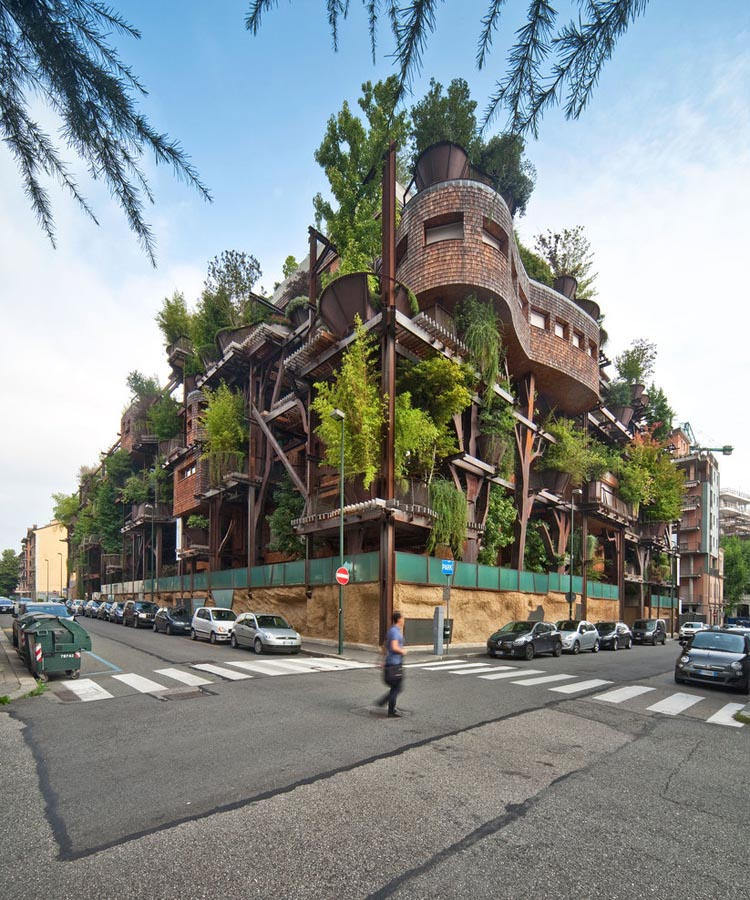 25 Verde Tree House in Turin