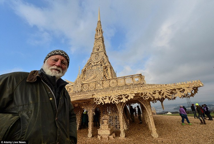 Derry-Londonderry Burning Man Temple by David Best