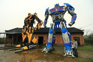 Giant Transformers Models
