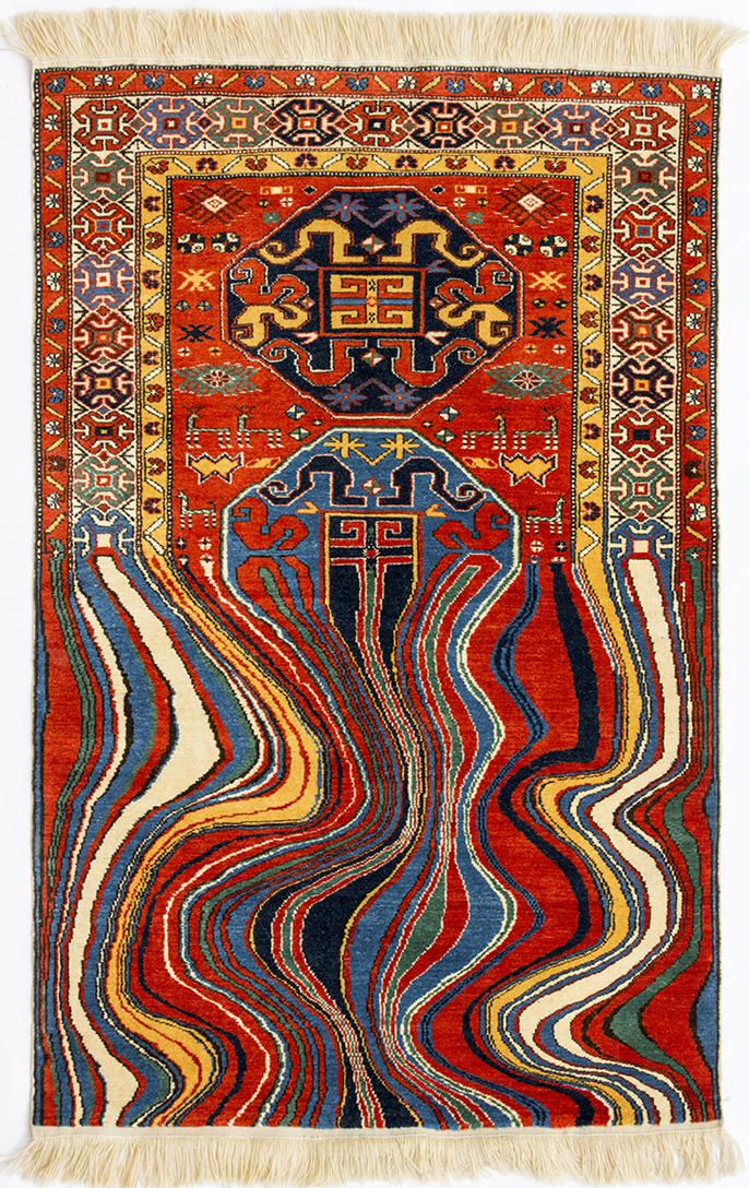 Distorted Rugs by Faig Ahmed