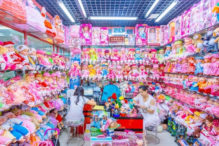 China Commodity City Photos by Richard John Seymour