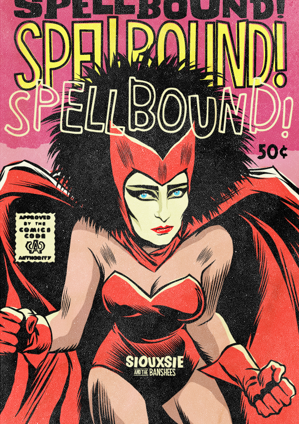 Siouxsie Siouxof Siouxsie and the Banshees as The Scarlet Witch