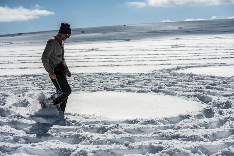 Simon Beck Snow Art in Utah