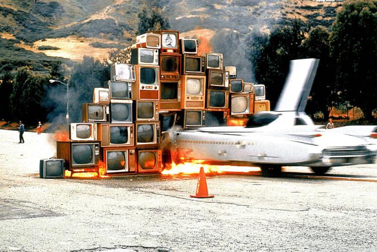 Media Burn at the Cow Palace