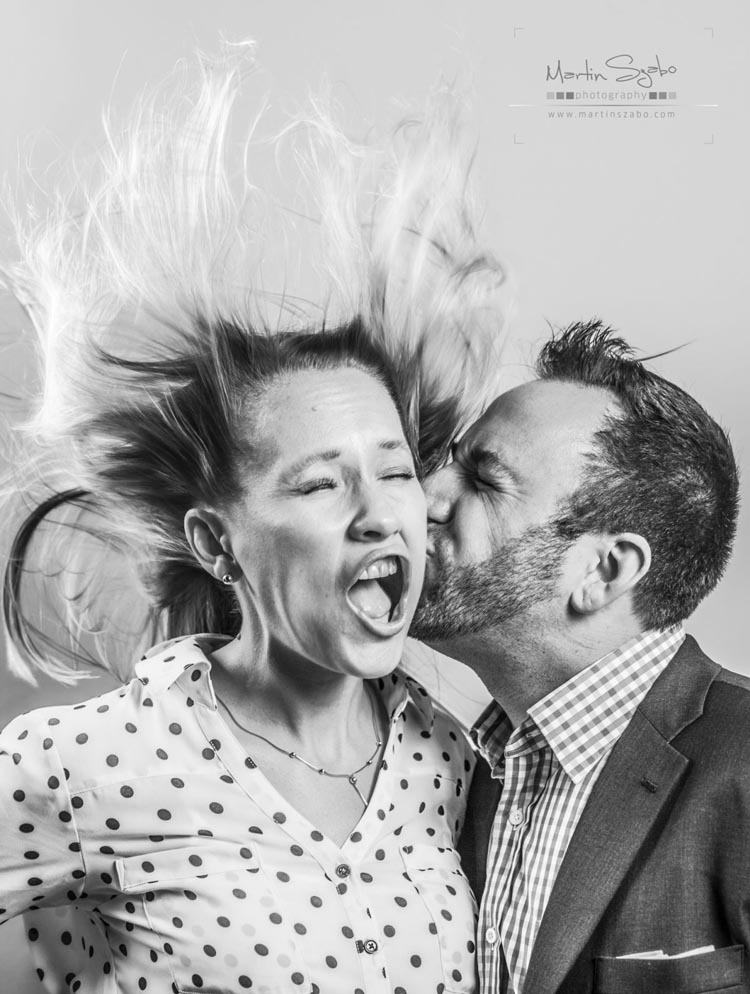 Leaf Blower Photo Booth by Martin Szabo