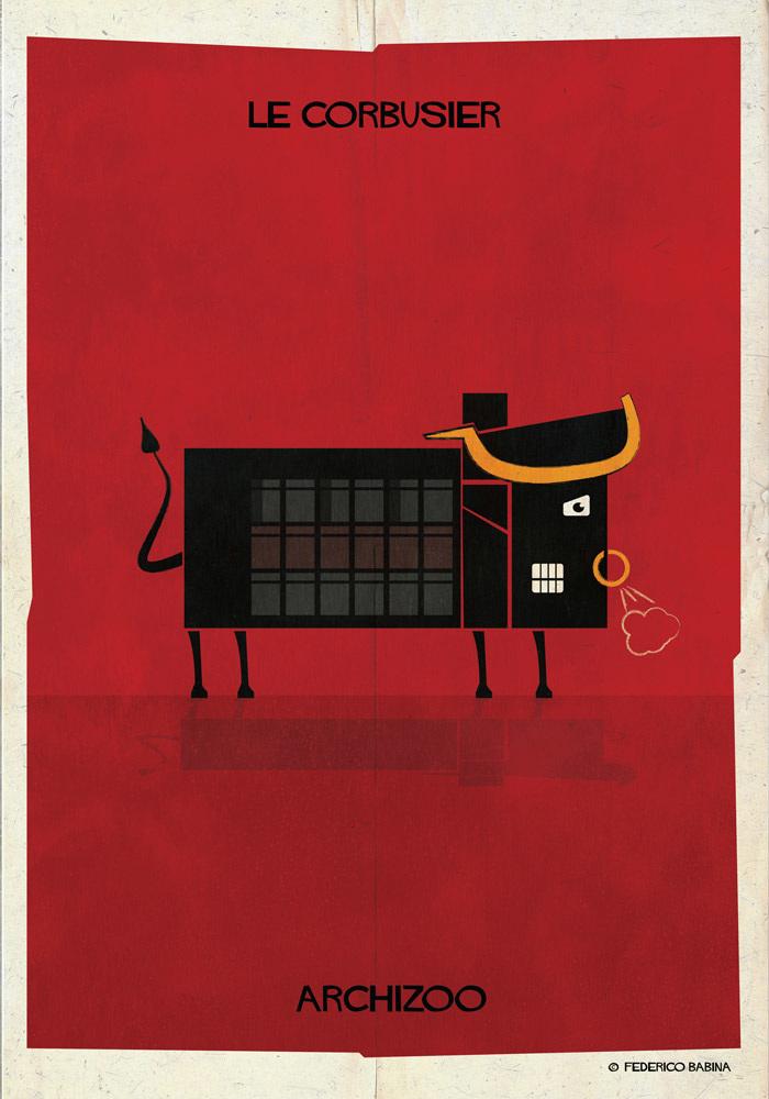 Bull Le Corbusier