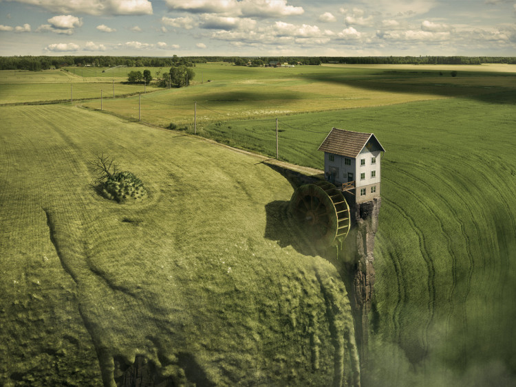 Surreal and Optical Illusion Photos by Erik Johansson
