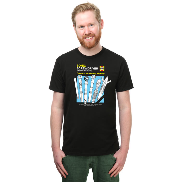 Haynes Guide to the Sonic Screw Driver Tee
