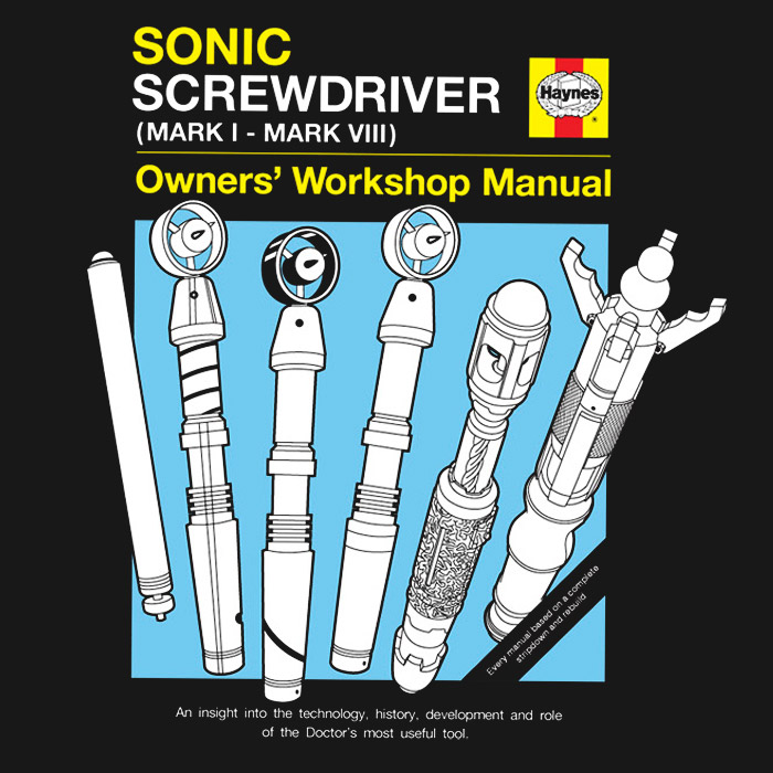 Haynes Guide to the Sonic Screwdriver