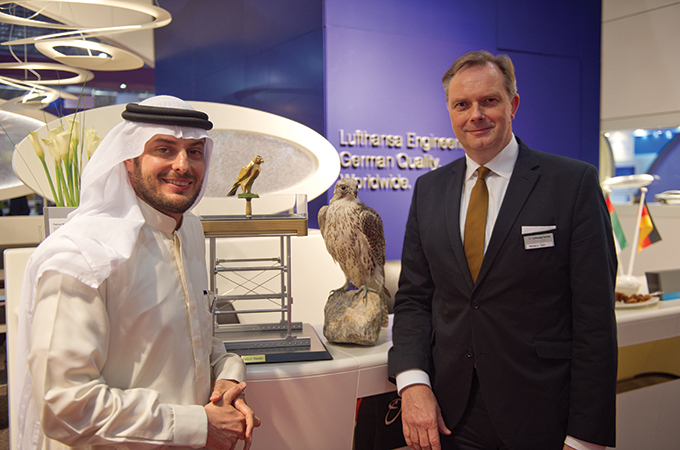 Lufthansa to Allow Falcons Aboard Flights