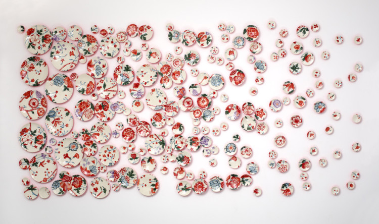 Ceramic Plate Paintings by Molly Hatch