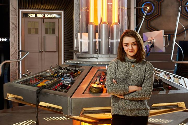 Maisie Williams on Doctor Who