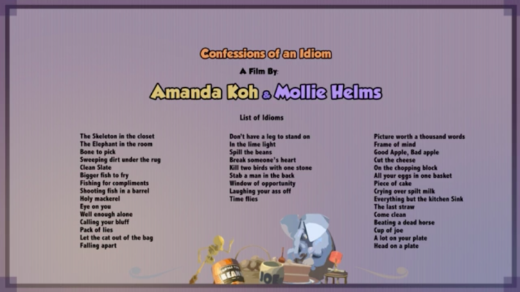 List of idioms