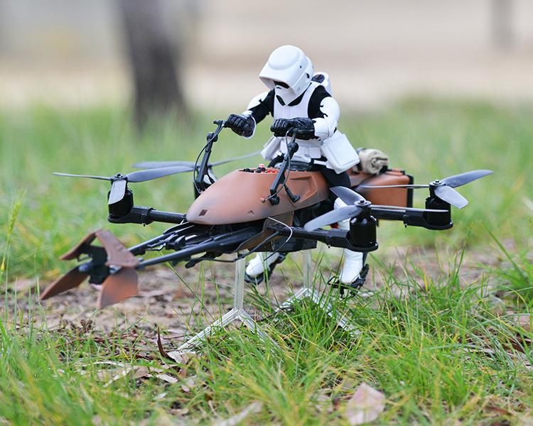 Star Wars Speeder Bike Quadcopter