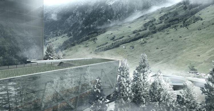 7132 Hotel Luxury Tower in Swiss Alps