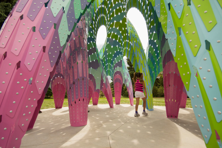 Vaulted Willow Pavilion