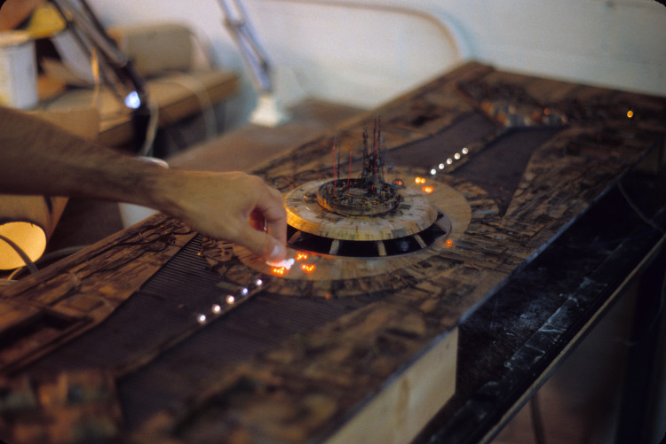 Behind the Scenes Photos of the Blade Runner Model Shop