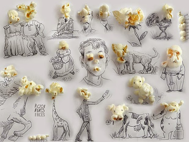 Everyday Object Drawings by Victor Nunes