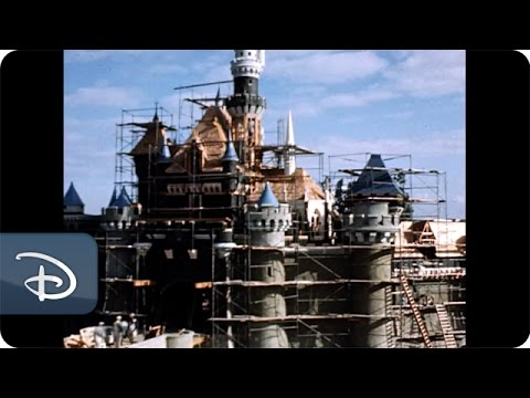A Time-Lapse Film of the Construction of Disneyland in the 1950s