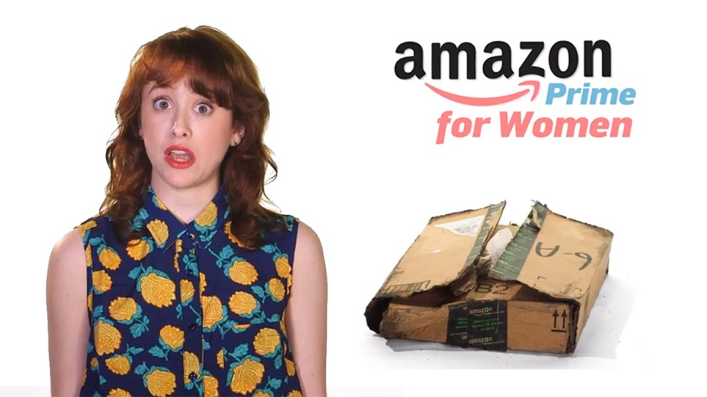 'Amazon Prime for Women', An Amusingly Topical Parody That Addresses the Gender Pay Gap
