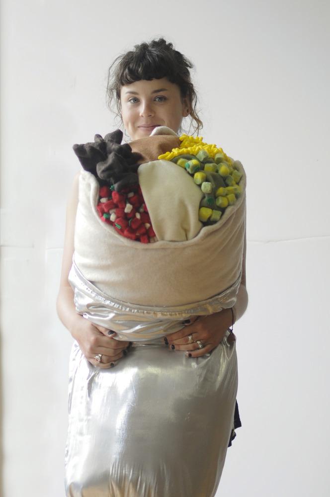 Hugging Super Burrito Pillow