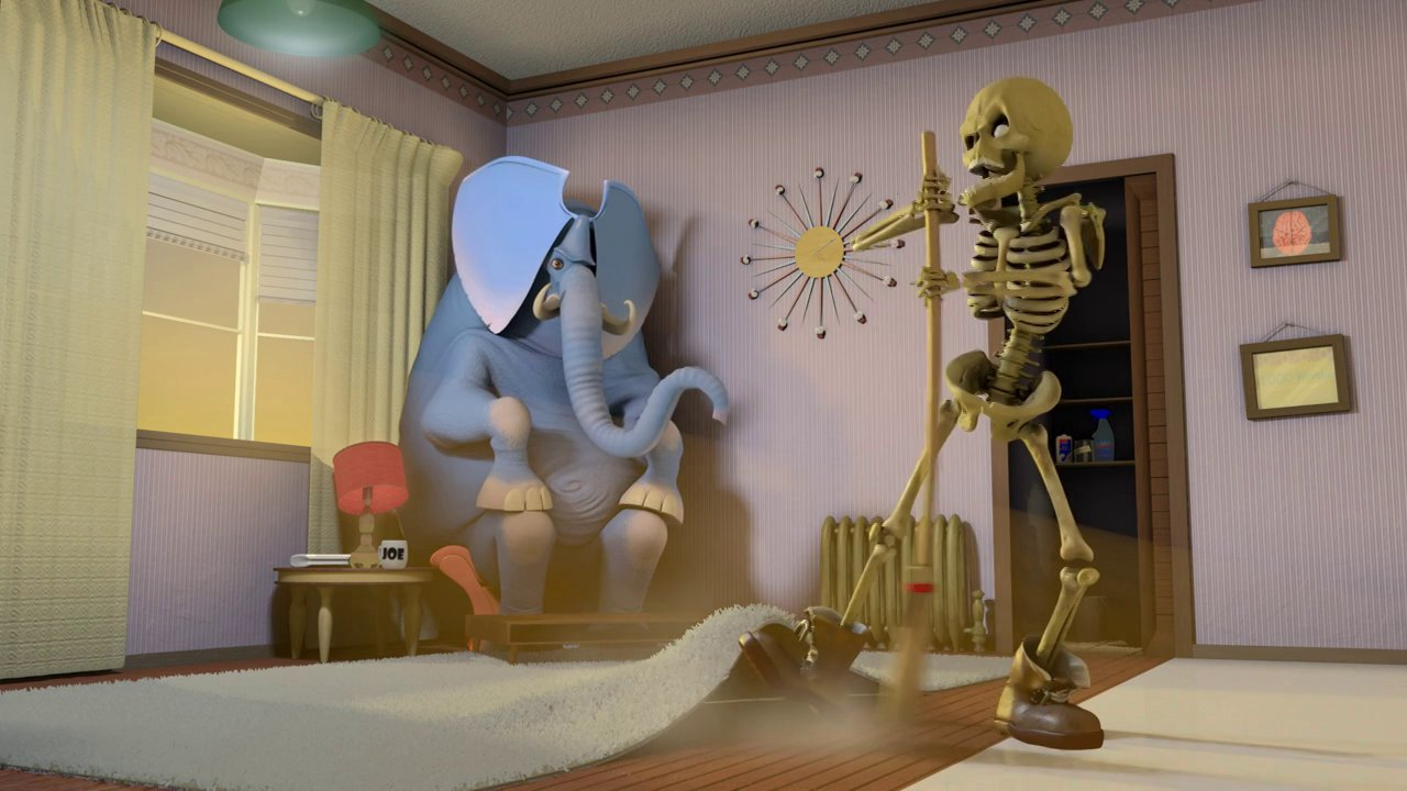 An Animated Short Film Featuring The Skeleton In The Closet