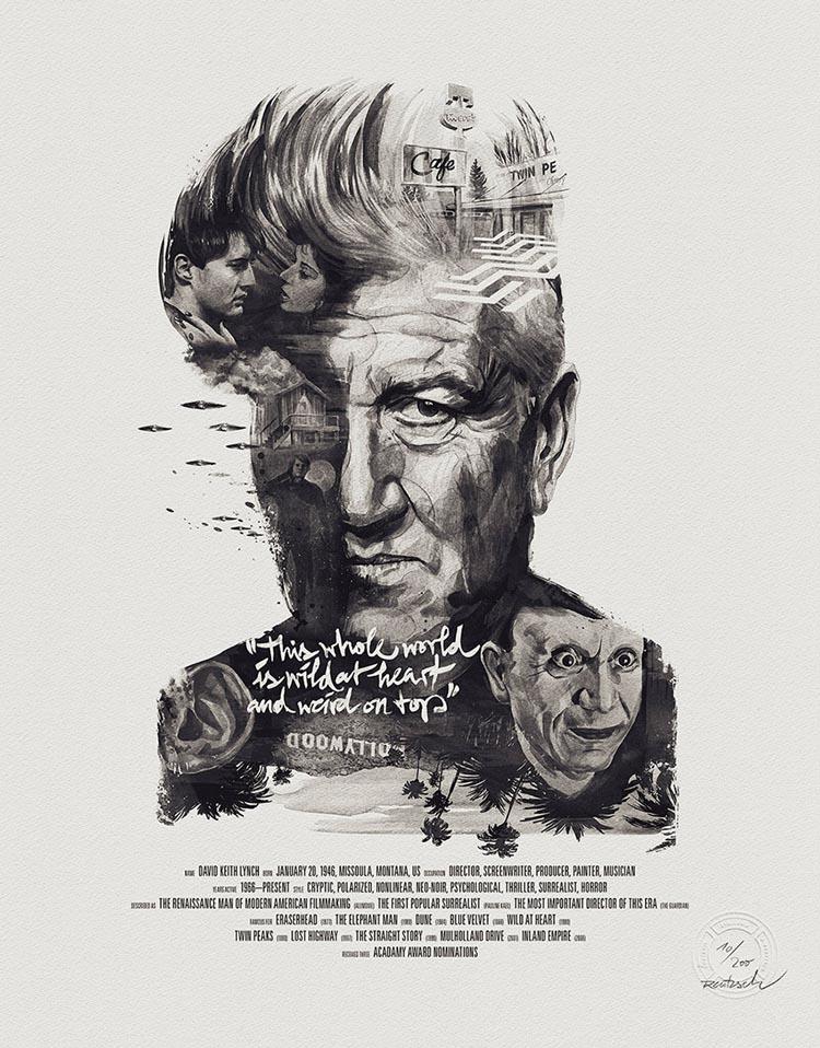 Film Director Posters by Julian Rentzsch and stellavie