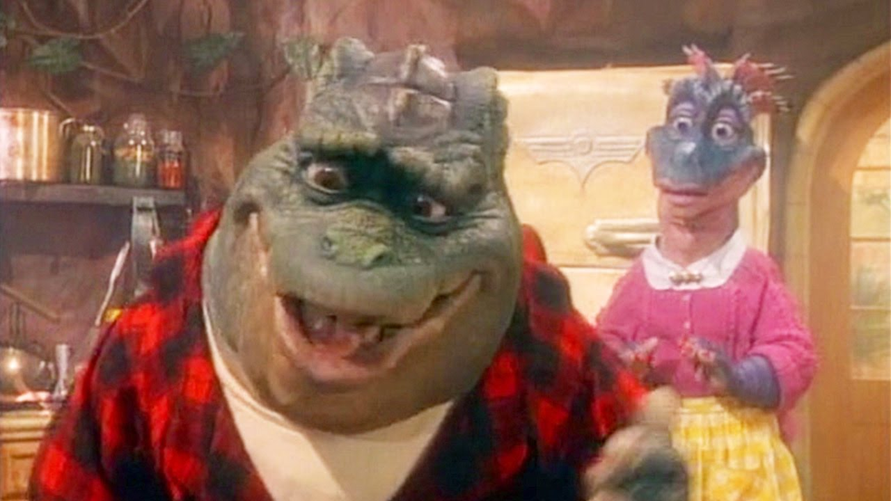 Earl Sinclair The Dad From The Television Show Dinosaurs