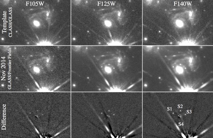 einstein cross supernova