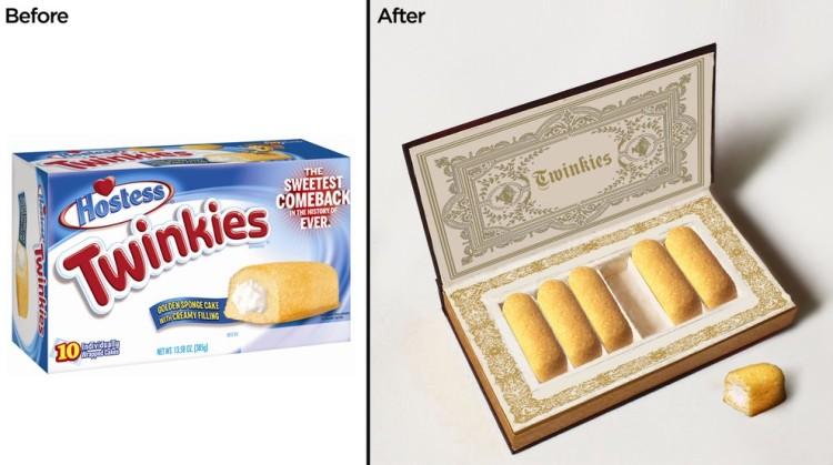 Imaginary Artisan Packaging for Popular Junk Foods