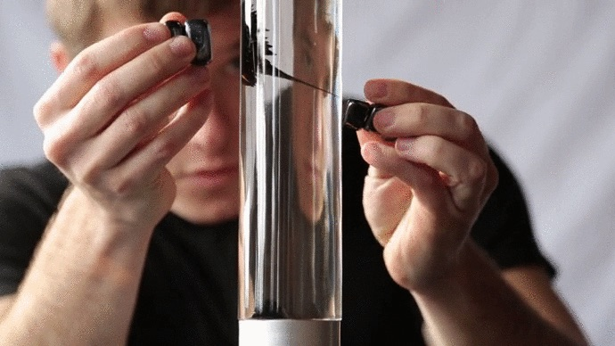 The Inspiration, A Lava Lamp-Style System With Ferrofluid Liquid ...