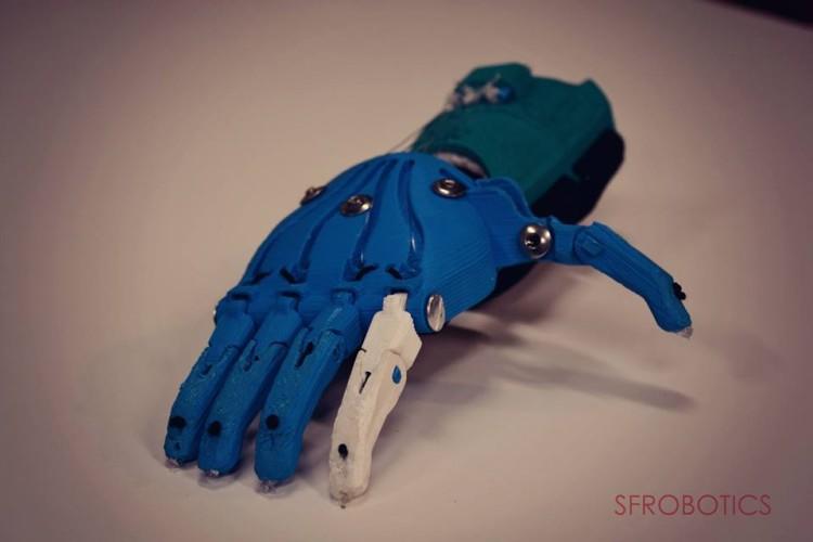 frozen robotic hand 5