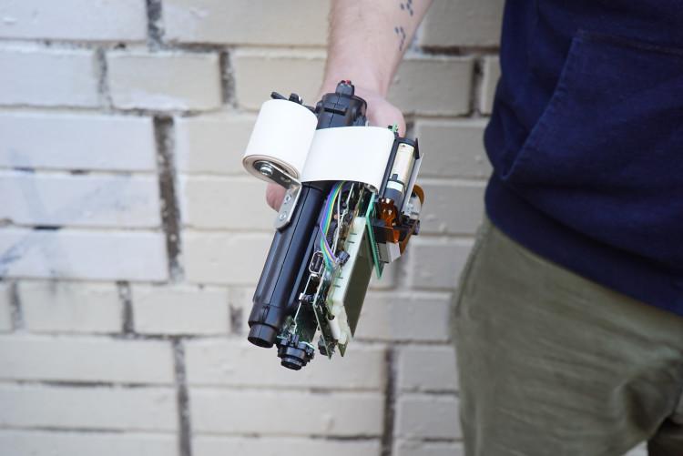 8-bit Camera Gun