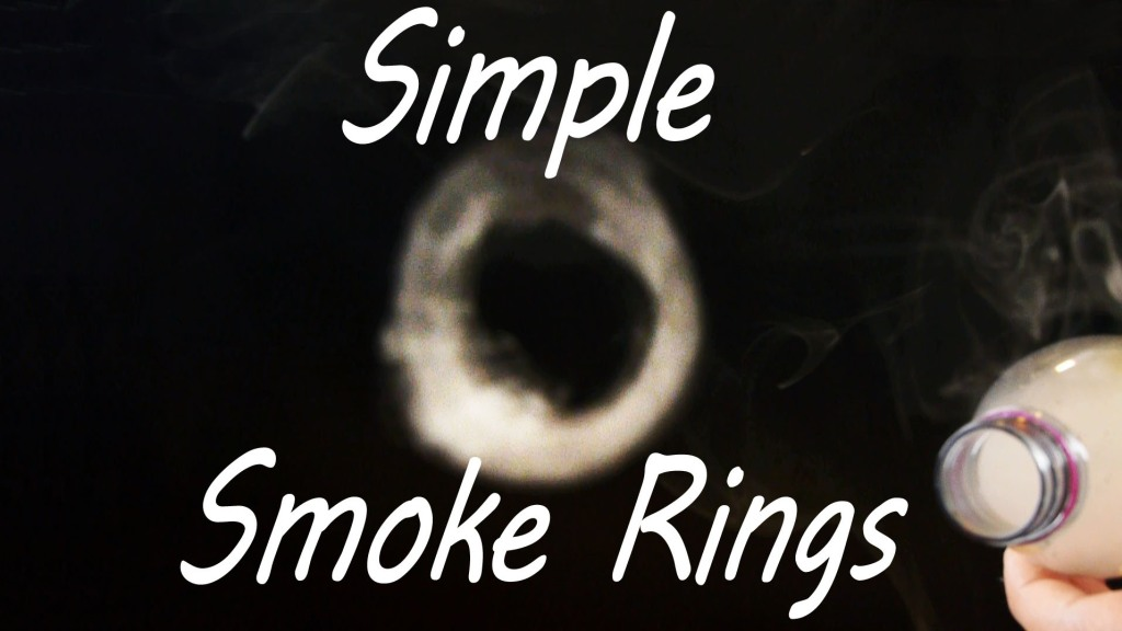How to Make Smoke Rings Using a Plastic Bottle, a Balloon, and Incense Sticks