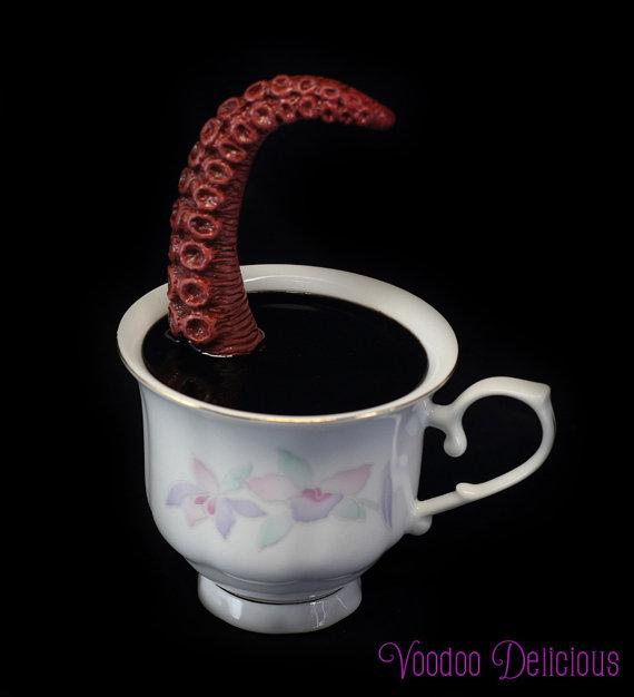 Tentacle teacup