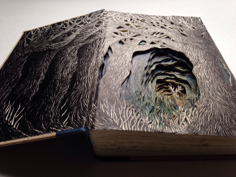 Altered books by Isobelle Ouzman
