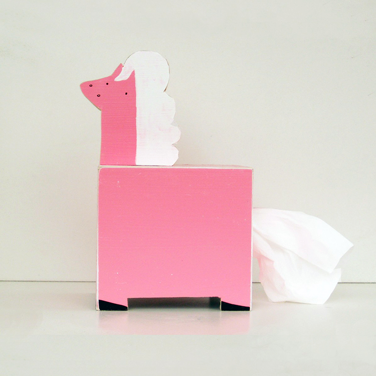 Pony Tissue Holder