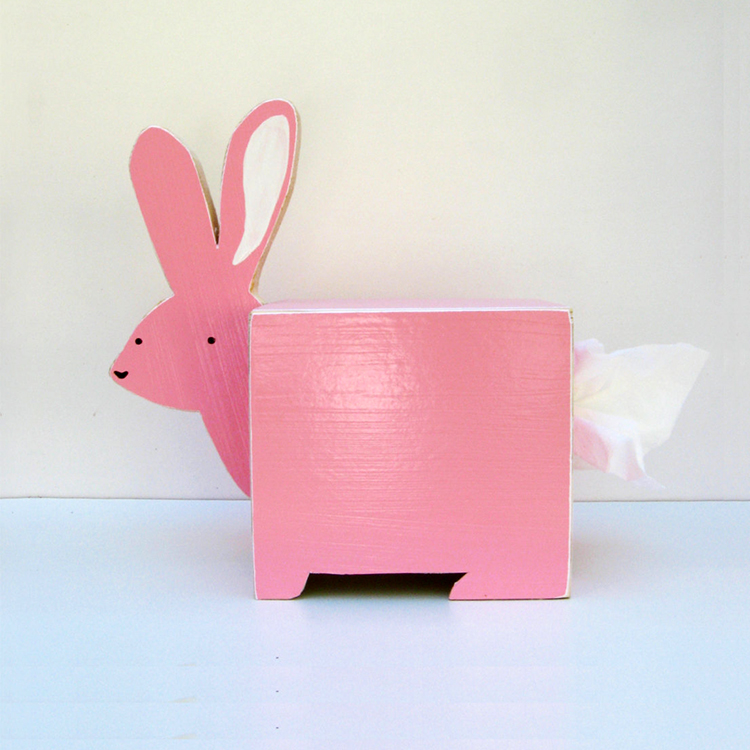 Rabbit Tissue Holder